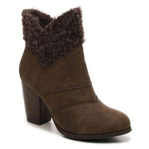 2 Lips Too Lancaster Fur Boots Shoes Bootie